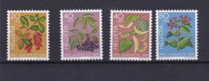 SWITZERLAND  1976  PRO JUVENTUTE  SG  J 254  - J 257   SET OF 4  MNH