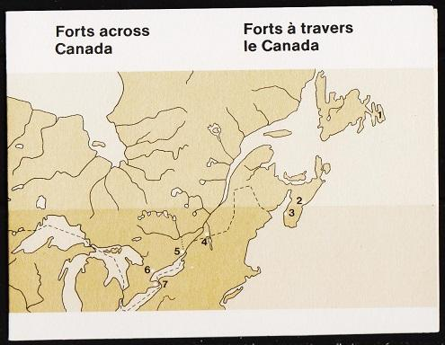 Canada.1985 Forts Booklet. Unmounted Mint