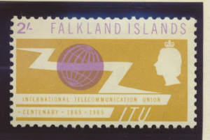 Falkland Islands Stamps Scott #154 To 155, Mint Never Hinged - Free U.S. Ship...