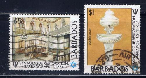 Barbados 711; 713 Used 1987 Issues