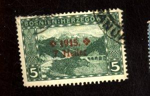 BOSNIA HERZOGOVANIA #B3 USED F-VF Cat $17