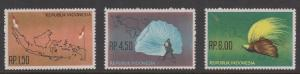 Indonesia Sc#597-599 MNH