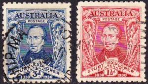 Australia #104-05 used Sturt