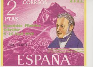 Spain  1979 Gibraltar Stamp Expo Souvenir Sheet  (SU734L)