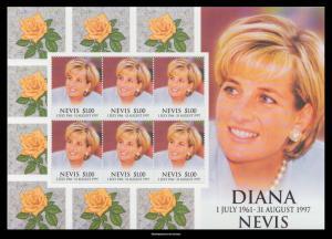 Nevis Scott 1096 Mint never hinged.