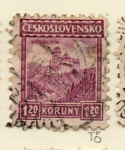Czechoslovakia 1926-27 Issue Fine Used 1.20k. NW-148601