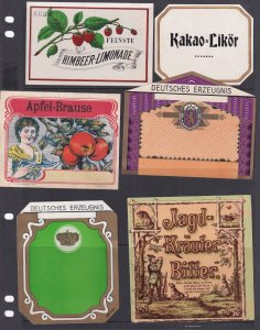 GERMANY ADS LABEL STAMPS COLLECTION LOT #1