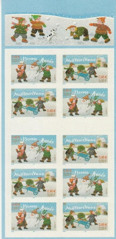 France #2846a Complete Booklet CV $14.00 (A8796L)