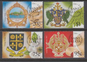 St Lucia 1113-116 MNH VF