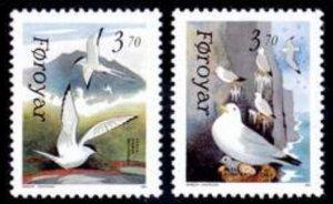 Faroe Islands #224-225 Fa223-224 MNH CV$2.40