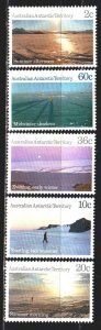 Australian Antarctic Territory (AAT). 1987. 74-78. Landscapes of Antarctica. ...