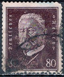 Germany; 1928: Sc. # 383: O/Used Single Stamp