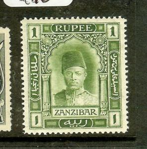 ZANZIBAR (P1210B) SULTAN 1R  SG253A   MOG