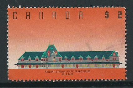 Canada SG 1278 Used left bottom perf clipped