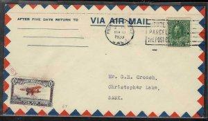 Canada 3 Rare Yukon Airways covers - Private Airmail
