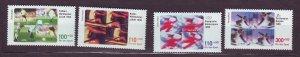 J23317 JLstamps 1998 germany set mnh #b827-30 sports
