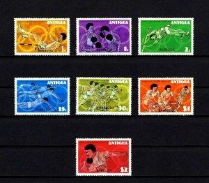 BARBUDA - 1976 - OLYMPICS - MONTREAL - RUNNING - BOXING - CYCLING + MINT NH SET!