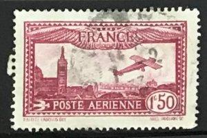 France #C5 Used CV$4.00 Marseille Notre Dame
