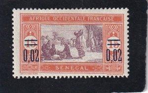Senegal,  #  128   unused