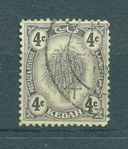 Malaya - Kedah sc# 29 (2) used cat value $.25