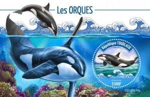TOGO - 2019 - Orcas - Perf Souv Sheet - M N H