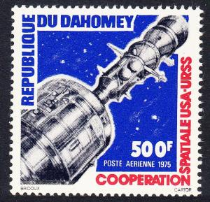 Dahomey Soyuz Apollo Space Link 500F SG#572 MI#619