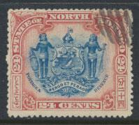 North Borneo SG 111b Used perf 15 see details corrected inscription see scans