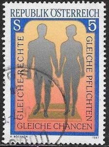 Austria 1394 Used - Equal Rights for Men & Women