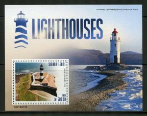 SIERRA LEONE 2019 LIGHTHOUSES SOUVENIR SHEET MINT NH