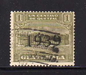 Guatemala RA12 U Post Office and Telegraph Building (A)