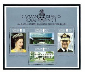 Cayman Is 509a MNH 1983 Royal Visit S/S