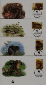 Belarus 117-20 FDC WWF-95/Beaver