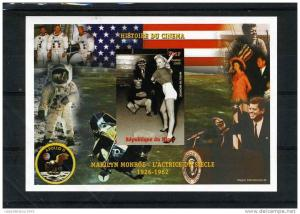 Niger Kennedy-Monroe-Apollo 11 s/s Imperforated mnh.vf