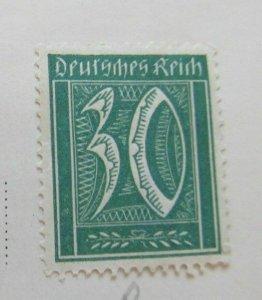A8P47F86 Deutsches Reich Germany 1921 30pf fine mh* stamp