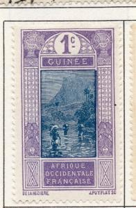 French Guinea 1913 Early Issue Fine Mint Hinged 1c. 193459