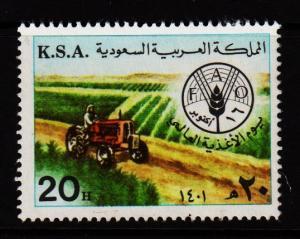 Saudi Arabia - #836 World Food Day - Unused NG