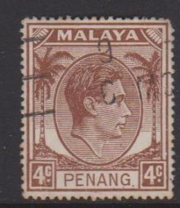 Malaya Penang Sc#6 Used