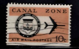 Canal Zone Scott C48 used airmail stamp