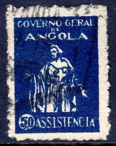 Angola - Scott #RA4 - Used - Toning - SCV $2.25