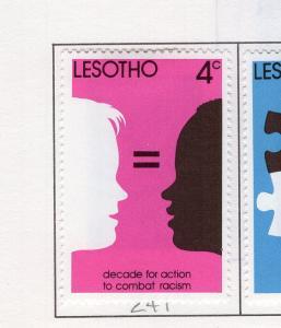 Lesotho MH Scott Cat. # 241