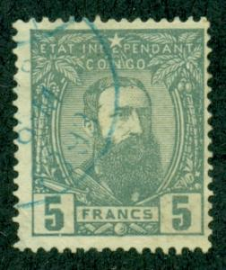 Belgian Congo #12  Used F  Scott $140.00