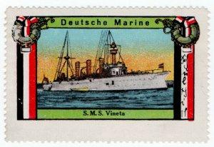 (I.B) Germany (Great War) Cinderella : SMS Vineta