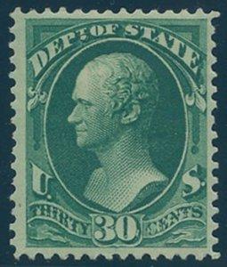 US Scott #O66, Mint, FVF, HR
