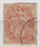 French Colonies. Port Said 20 (U)