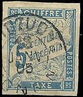French Colonies  - J15 - Used - SCV-1.60