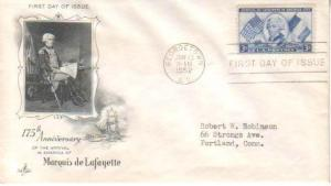 United States, First Day Cover, Flags, Military Related