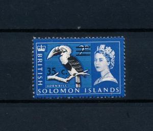 [59230] Solomon Islands 1967 Birds Vögel Oiseaux Ucelli with overprint MLH