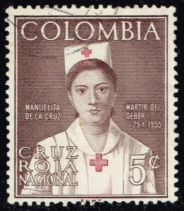 Colombia #RA60 Manuelita de la Cruz; Used (0.25)