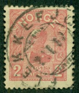 NORWAY #66, Used, Scott $130.00