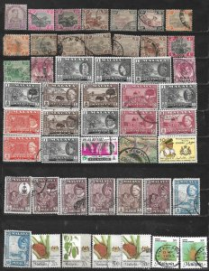 COLLECTION LOT OF 49 MALAYA 1891+ STAMPS CLEARANCE